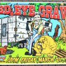 "Red Eye Gravy promotional Thom Self 19"" x 13"" Concert Poster"