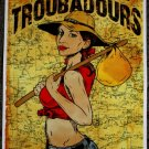 "Turnpike Troubadours promotional Thom Self 13"" x 19"" Concert Poster"