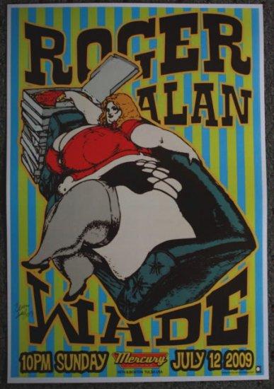 "Roger Alan Wade promotional Thom Self 13"" x 19"" Concert Poster"