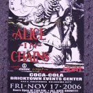 ALICE IN CHAINS rare promotional CONCERT POSTER collectible