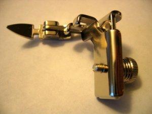 Adjustable Zipper Foot Most High Shank Sewing Machines