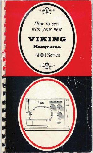 Viking 6000 Instruction Black & Red Manual PDF format CD