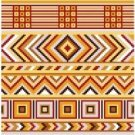 "6097 Geometric Needlepoint Canvas 7"" x 7"""