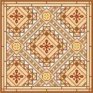 "6065 Geometric Needlepoint Canvas 8"" x 8"""