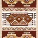 "6073 Southwest Needlepoint Canvas 6"" x 9"""