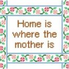 "6078 Mother Needlepoint Canvas 6"" x 7"""