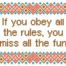 "6075 Sayings Needlepoint Canvas 6"" x 7"""