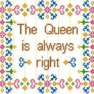 "6021 Queen Needlepoint Canvas 7-1/2"" x 10-1/2"""