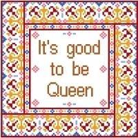 "6022 Queen Needlepoint Canvas 8"" x 8"""