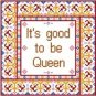 "6022 Queen Needlepoint Canvas 8"" x 8"""