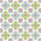 "6030 Geometric Needlepoint Canvas 14"" x 14"""