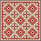 "6902 Southwest Needlepoint Canvas 14"" x 14"""