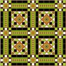 "6066 Geometric Needlepoint Canvas 14"" x 14"""