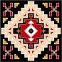 "6559 Southwest Needlepoint Canvas 14"" x 14"""