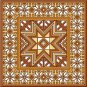 "4116 Geometric Needlepoint Canvas 14"" x 14"""