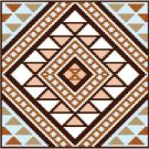 "6901 Southwest Needlepoint Canvas 14"" x 14"""