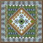 "6059 Geometric Needlepoint Canvas 14"" x 14"""