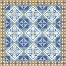 "6944 Geometric Needlepoint Canvas 14"" x 14"""