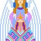 2031F Christmas Angel Needlepoint Canvas
