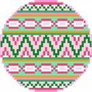 2020 Christmas Ornament Needlepoint Canvas