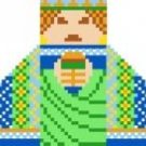 2015 Wise Man Christmas Ornament Needlepoint Canvas