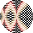 6787 Optical Geometric Needlepoint Canvas