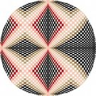 6058 Optical Geometric Needlepoint Canvas
