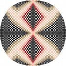 6057 Optical Geometric Needlepoint Canvas