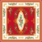 "4292 Aubusson Needlepoint Canvas 15"" x 15"""