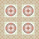 "6104 Oriental Needlepoint Canvas 12"" x 12"""