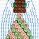 7113 Angel (back) Needlepoint Canvas