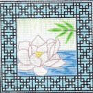 6283 Zen Lotus Needlepoint Canvas