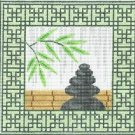 6281 Zen Rocks Needlepoint Canvas