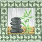 6280 Zen Rocks Needlepoint Canvas