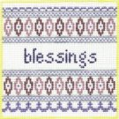 7108 Blessings Needlepoint Canvas
