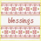 7107 Blessings Needlepoint Canvas
