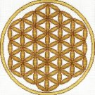 7121 Flower of Life Needlepoint Canvas
