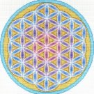 7120 Flower of Life Needlepoint Canvas