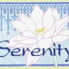 7137 Serenity Needlepoint Canvas