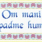 7141 Om Mani Padme Hum Needlepoint Canvas