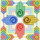 7130 Healing Hands Needlepoint Canvas