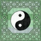 7101 Yin Yang Needlepoint Canvas