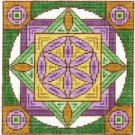 7126 Flower of Life Mandala Needlepoint Canvas