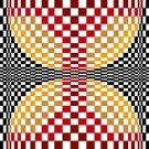 6258 Optical Geometric Needlepoint Canvas