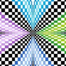 6257 Optical Geometric Needlepoint Canvas