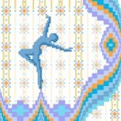 6240 Dancer Needlepoint Canvas