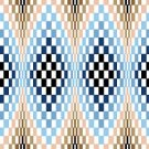 6231 Optical Geometric Needlepoint Canvas