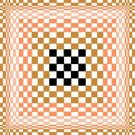 6252 Optical Geometric Needlepoint Canvas