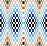6231 Optical Geometric Needlepoint Canvas