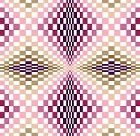 6230 Optical Geometric Needlepoint Canvas